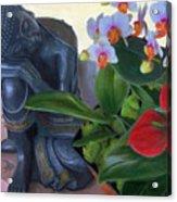 Norma's Buddha Acrylic Print