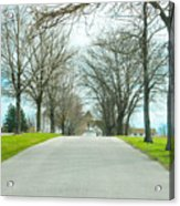 Norristown Farm Park Over The Rise Acrylic Print