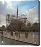 Norte Dame De Paris Acrylic Print
