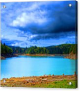 North Alder Lake Acrylic Print