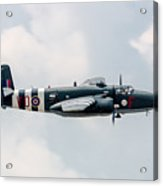 North American B-25 Hot Gen -starboard Side Acrylic Print