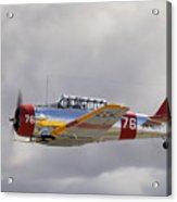 North American Harvard  Vh-nzh Acrylic Print by Barry Culling