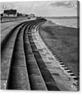North Beach, Heacham, Norfolk, England Acrylic Print by John Edwards