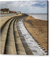 North Beach Heacham Norfolk Acrylic Print