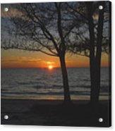 North Beach Sunset Acrylic Print by David Lee Thompson