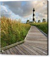 North Carolina Bodie Island Lighthouse Summer Acrylic Print