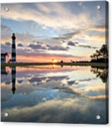 North Carolina Bodie Island Lighthouse Sunrise Acrylic Print