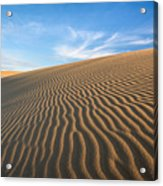 North Carolina Jockey's Ridge State Park Sand Dunes Acrylic Print