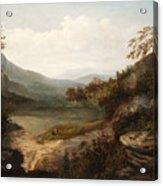 North Carolina Mountain Landscape Acrylic Print