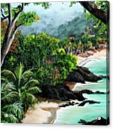 North Coast Tobago Acrylic Print