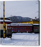 North Conway Nh Scenic Railroad Acrylic Print