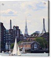 North End  Of Boston  Acrylic Print