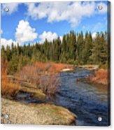 North Fork Deer Creek Acrylic Print