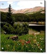 North Fork  Lake Colorado Acrylic Print