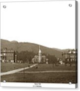 North Hall, Bacon Hall, Library, South Hall, University Of Calif Acrylic Print