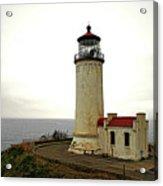 North Head Lighthouse - Graveyard Of The Pacific - Ilwaco Wa Acrylic Print