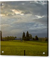 North Idaho Sunrise Acrylic Print