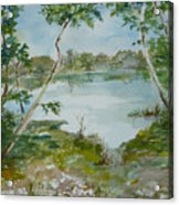 North Lake Acrylic Print