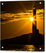 North Light Sunflare Acrylic Print