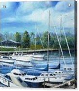 North Myrtle Beach Marina Acrylic Print