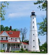 North Point Lighthouse Acrylic Print