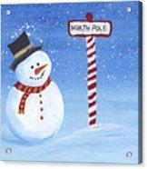 North Pole Acrylic Print