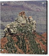 North Rim Rock Acrylic Print