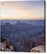 North Rim Sunrise 2 - Grand Canyon National Park - Arizona Acrylic Print