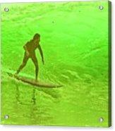 North Shore Green Acrylic Print