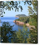 North Shore Lake Superior Acrylic Print