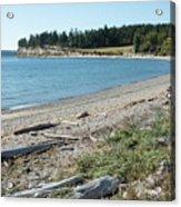North Shore Of Penn Cove Acrylic Print