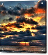 North Shore Sunset Acrylic Print