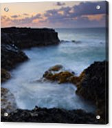 North Shore Tides Acrylic Print