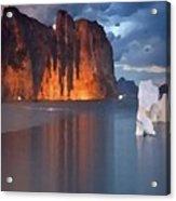 North Silence Acrylic Print