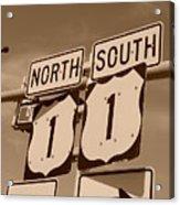 North South 1 Acrylic Print