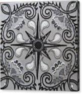 North Star Acrylic Print by Carolyn Powers