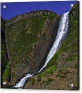 North Table Mountain Spring Falls Acrylic Print