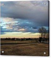 North Texas Landscape Acrylic Print