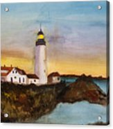 North Truro Light House Cape Cod Acrylic Print