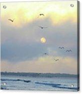 North Wildwood Beach Acrylic Print