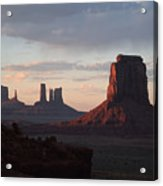 North Window At Sunset Acrylic Print