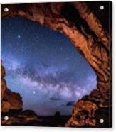 North Window Milky Way Acrylic Print