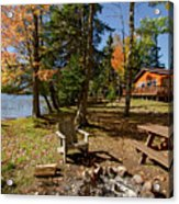 North Woods Lake Three Acrylic Print