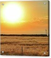 Northern California Sunrise Acrylic Print