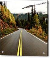 Northern Highway Yukon Acrylic Print