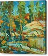 Northern Landscape Acrylic Print