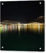 Northern Light On The Sea Acrylic Print