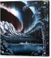 Northern Lights Aurora Borealis Acrylic Print