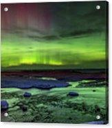 Northern Lights Pendells Creek -7824 Acrylic Print