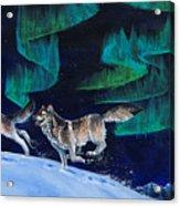 Northern Love Story Acrylic Print by Beth Davies